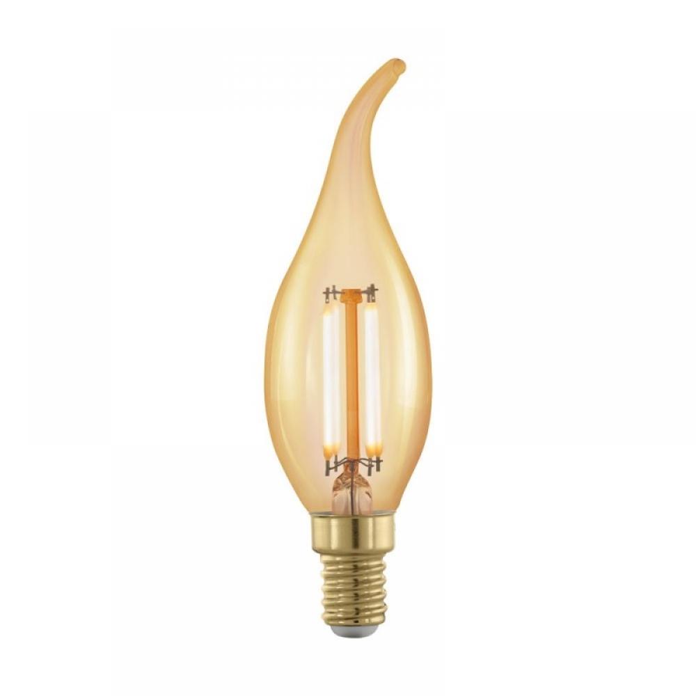 Bec dimabil decorativ LED E14 4W 1700K imagine 2021 insignis.ro