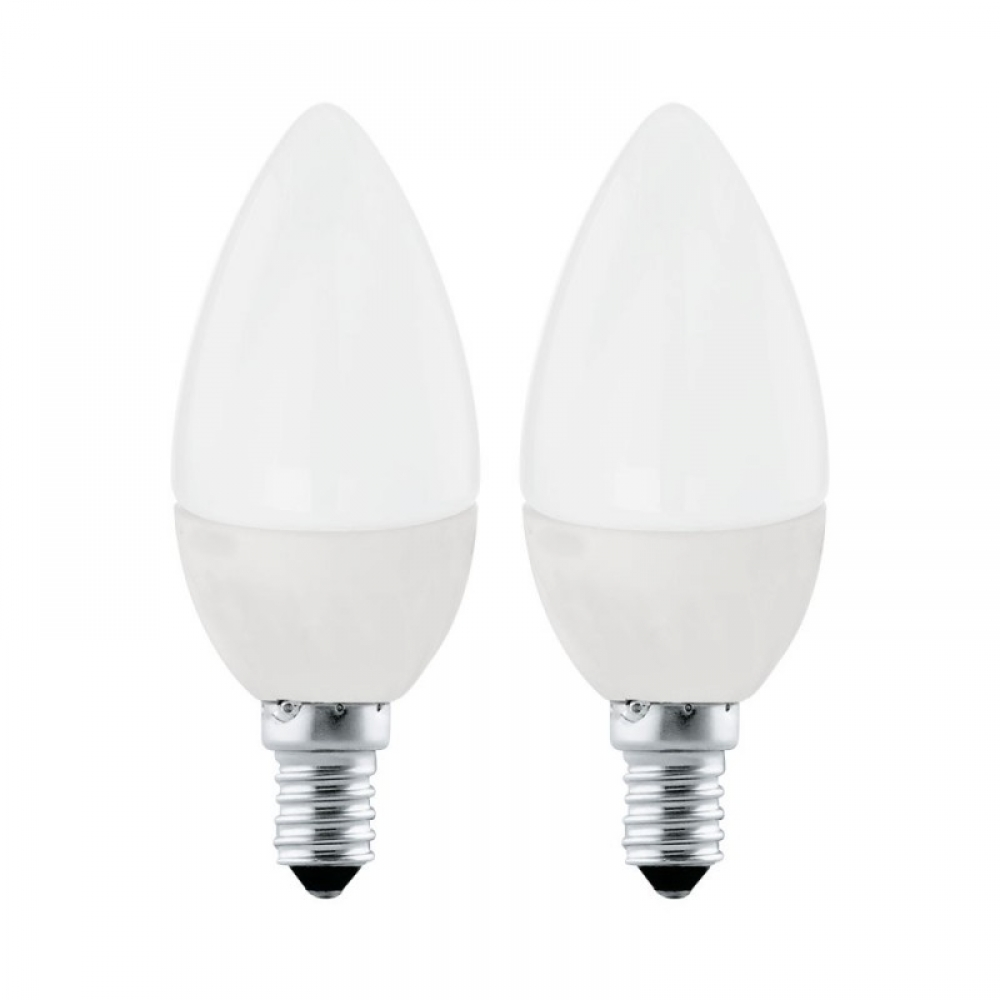 Set 2 becuri LED LED E14 4W 3000K imagine 2021 insignis.ro