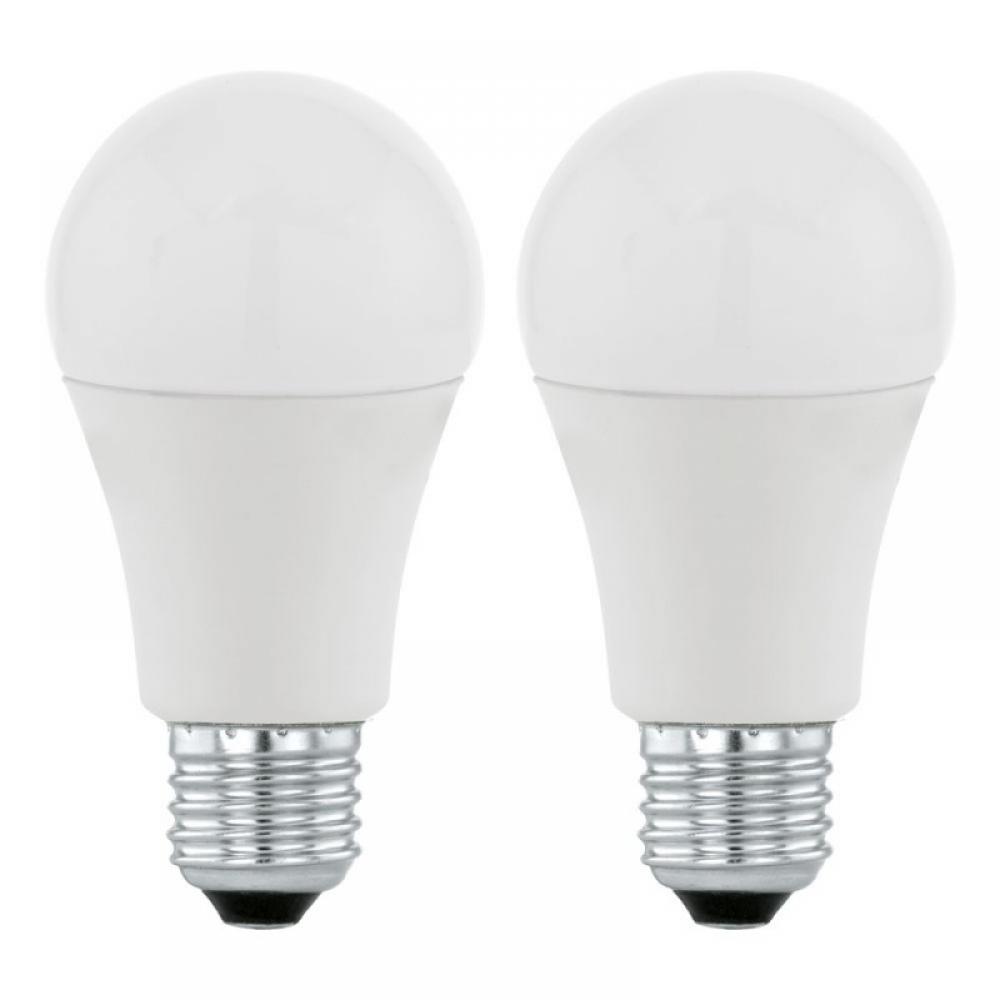 Set 2 becuri LED E27 10W 3000K imagine 2021 insignis.ro