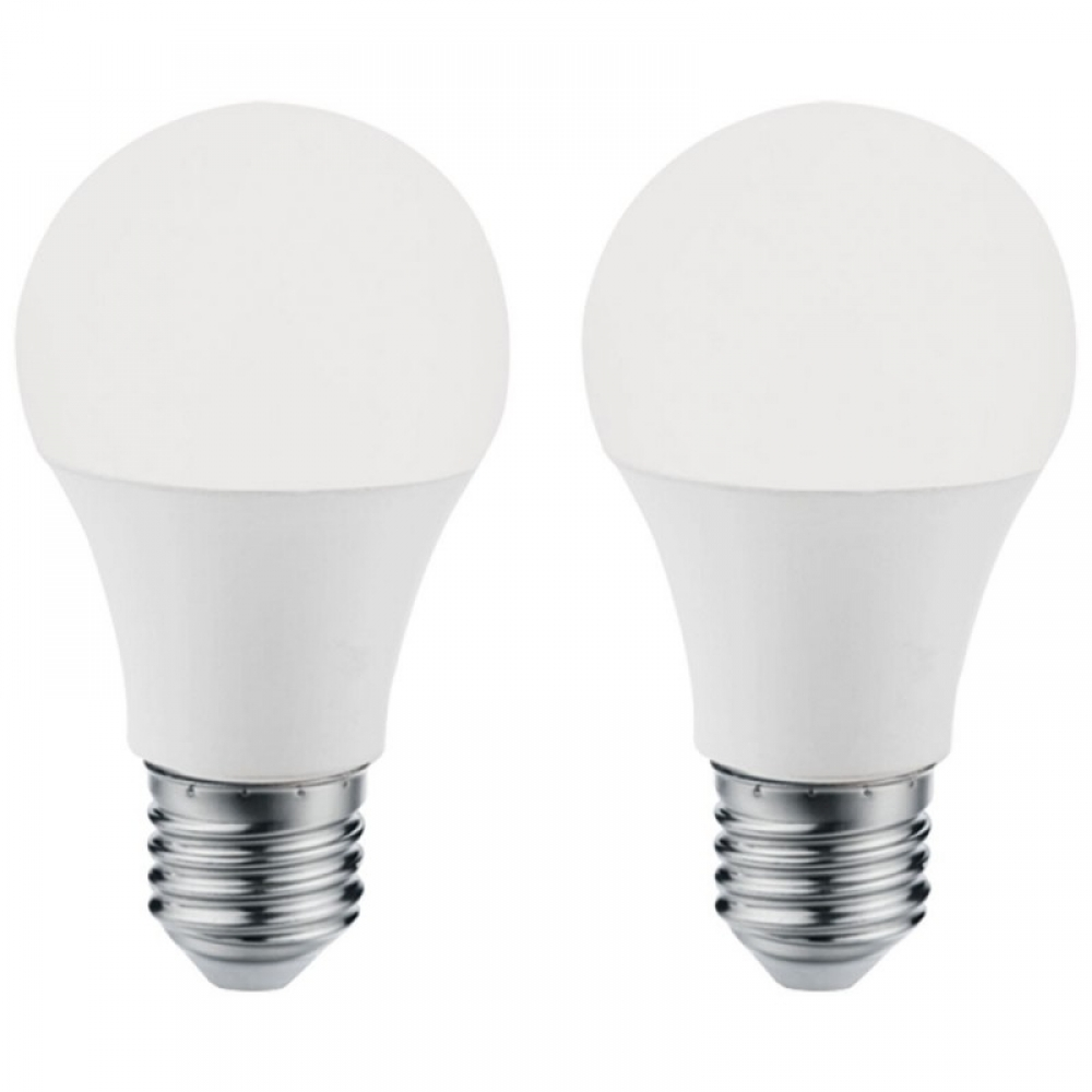 Set 2 becuri LED E27 10W 4000K imagine 2021 insignis.ro