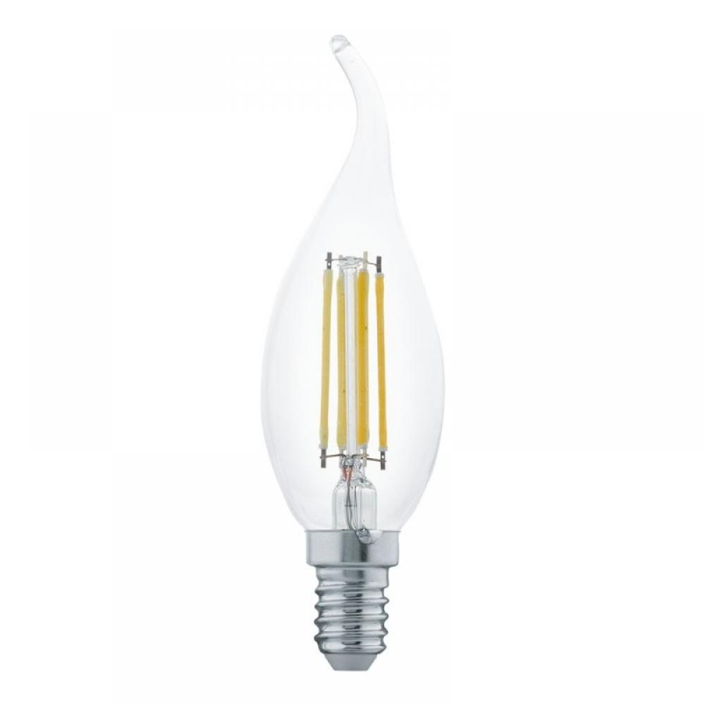 Bec LED decorativ LED E14 4W 2700K imagine 2021 insignis.ro