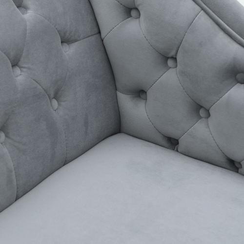 Canapea lounge gri  L175