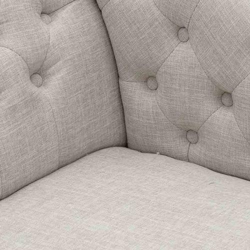 Canapea lounge crem  L175