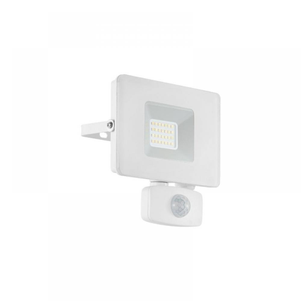 Proiector exterior LED cu senzor de miscare Faedo 20W 1800lm 5000K imagine 2021 insignis.ro