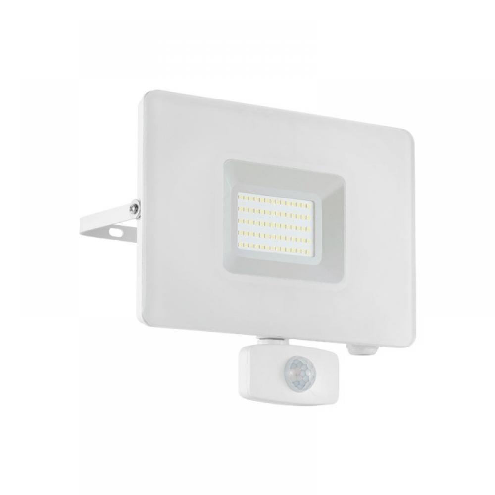 Proiector exterior LED cu senzor de miscare Faedo 50W 4800lm 5000K IP44 imagine 2021 insignis.ro