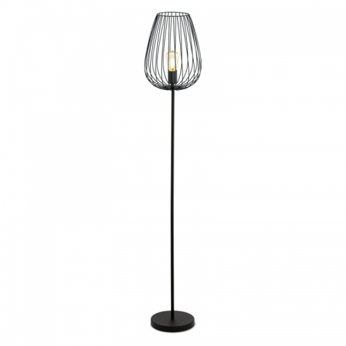 Lampadar Vintage Newtony  negru 60W E27