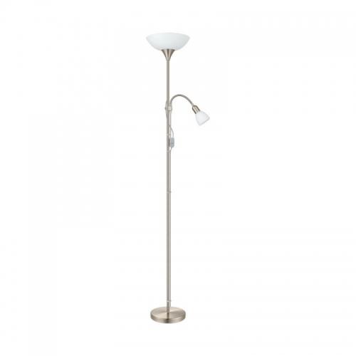 Lampadar UP2  E27 60W E14 25W alb