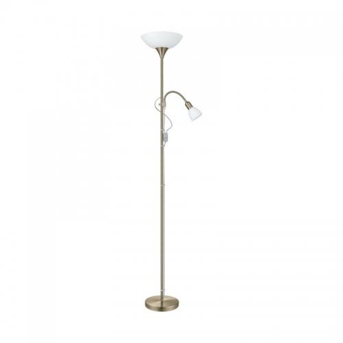 Lampadar UP2  E27 60W E14 25W bronz