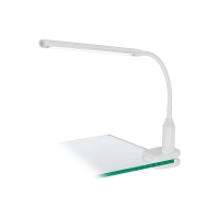 Lampa birou LED clips Larovis alb 4.5W 550lm 4000K