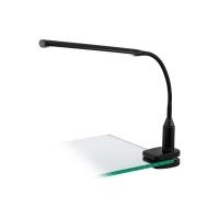 Lampa birou LED clips Larovis negru 4.5W 550lm 4000K