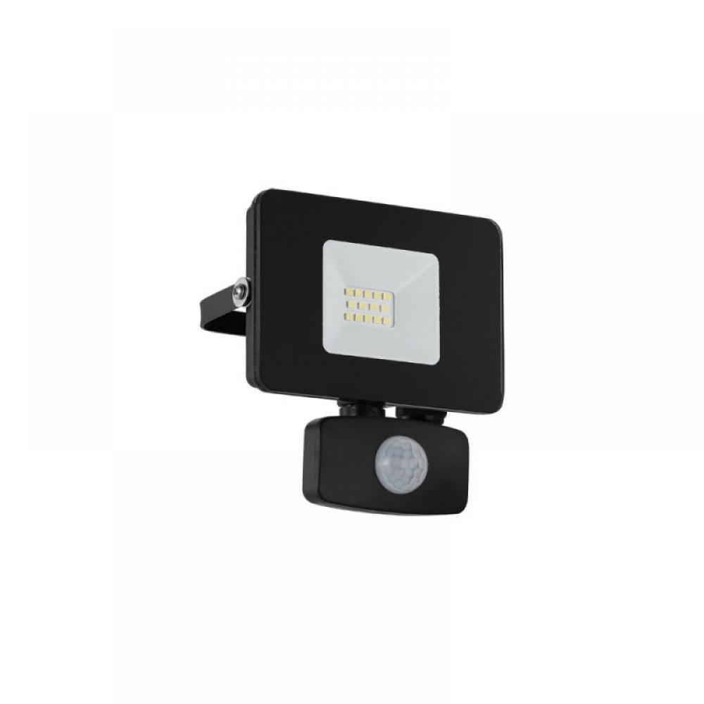 Proiector exterior LED cu senzor de miscare Faedo 10W 900lm 5000K Negru imagine 2021 insignis.ro