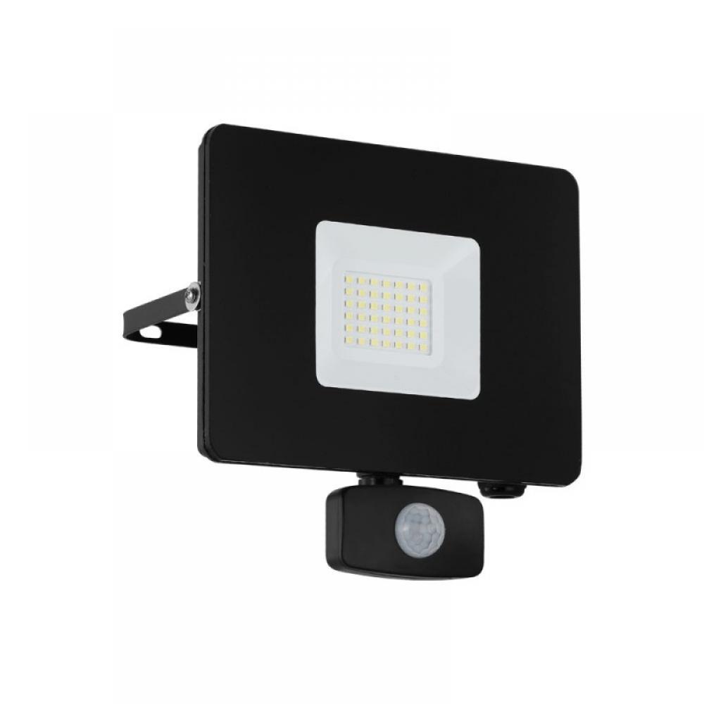 Proiector exterior LED cu senzor de miscare Faedo 30W 2750lm 5000K Negru imagine 2021 insignis.ro