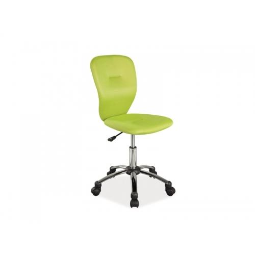 Scaun cu rotile de birou Lema verde