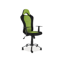 Scaun de birou cu rotile Velv verde