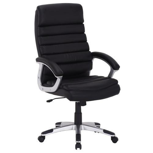 Scaun de birou directorial Carmi negru