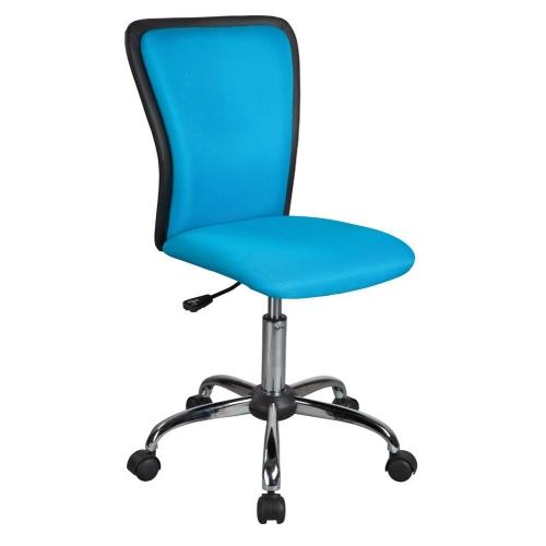 Scaun cu rotile de birou Joly albastru