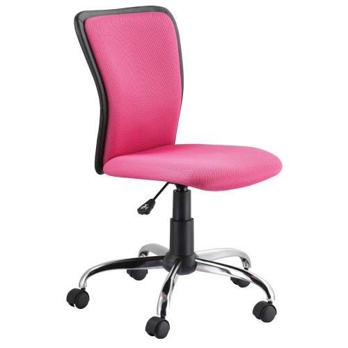 Scaun cu rotile de birou Joly roz