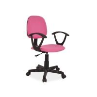 Scaun de birou office Gans roz