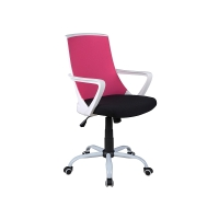 Scaun cu rotile de birou Lilino roz