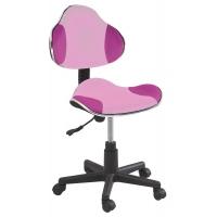 Scaun de birou cu rotile office Berla roz
