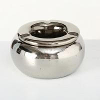 Scrumiera argintie H8 D14cm