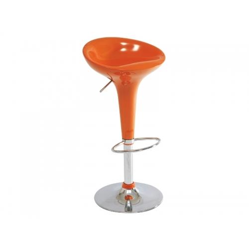 Scaun de bar Fox Portocaliu H68-88