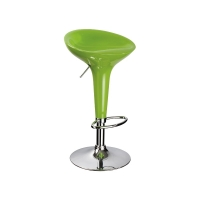 Scaun de bar Fox Verde H68-88