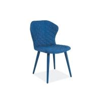 Scaun tapitat Lonan albastru