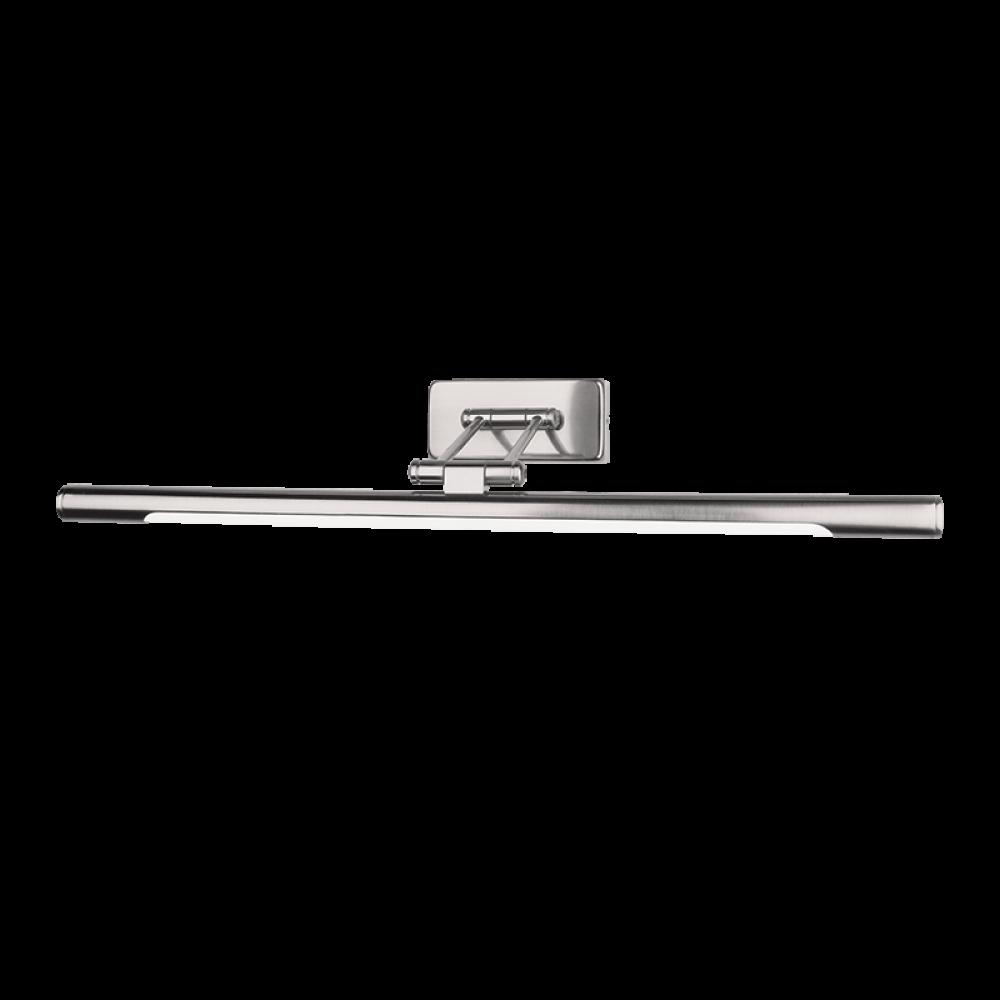 APLICA DE PERETE CU LED 12W 4000K NICHEL SATINAT L675mm PICOLO imagine 2021 insignis.ro