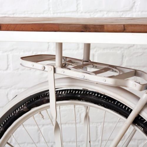 Raft decorativ bicicleta Eva L184