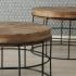 Masuta cafea Country set 2 buc D61-71cm