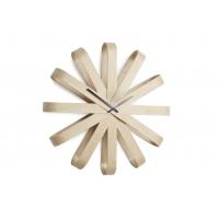 Ceas de perete Ribonne 20.5 inci lemn natural