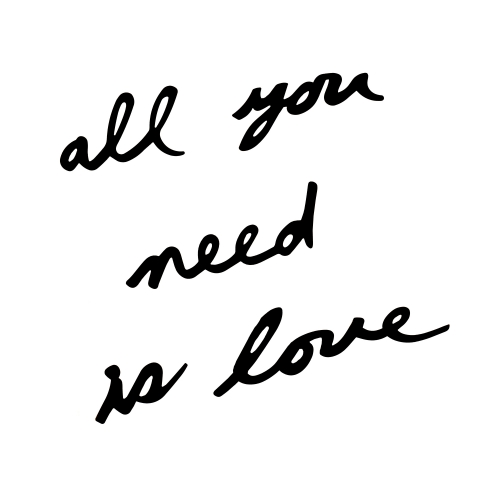 Mantra Love is all you need