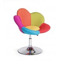 Scaun FLEUR cu manere Multicolor H42/52