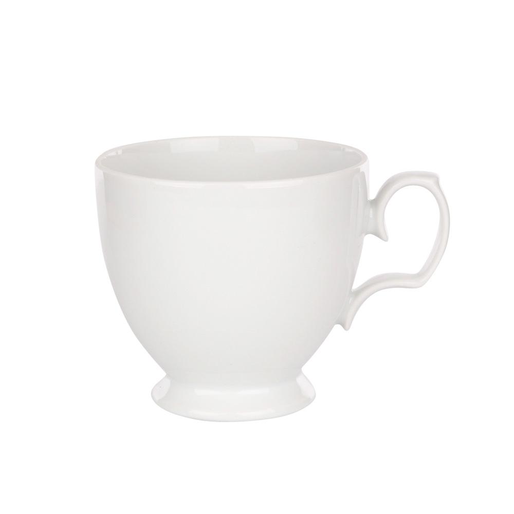 Cescuta cafea din portelan MariaPaula Bianco 220ml imagine 2021 insignis.ro
