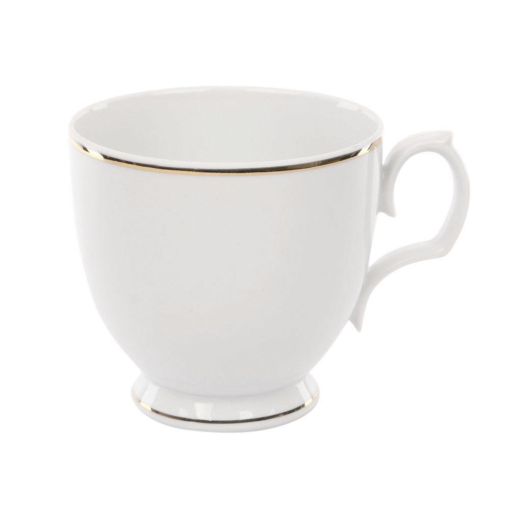 Cana cappuccino din portelan MariaPaula GoldenLine 350ml imagine 2021 insignis.ro
