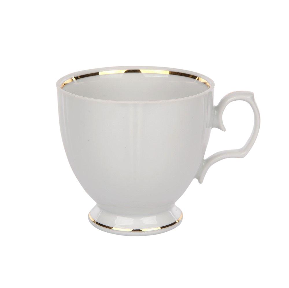 Ceasca cafea din portelan Geometria GoldenLine 200ml imagine 2021 insignis.ro