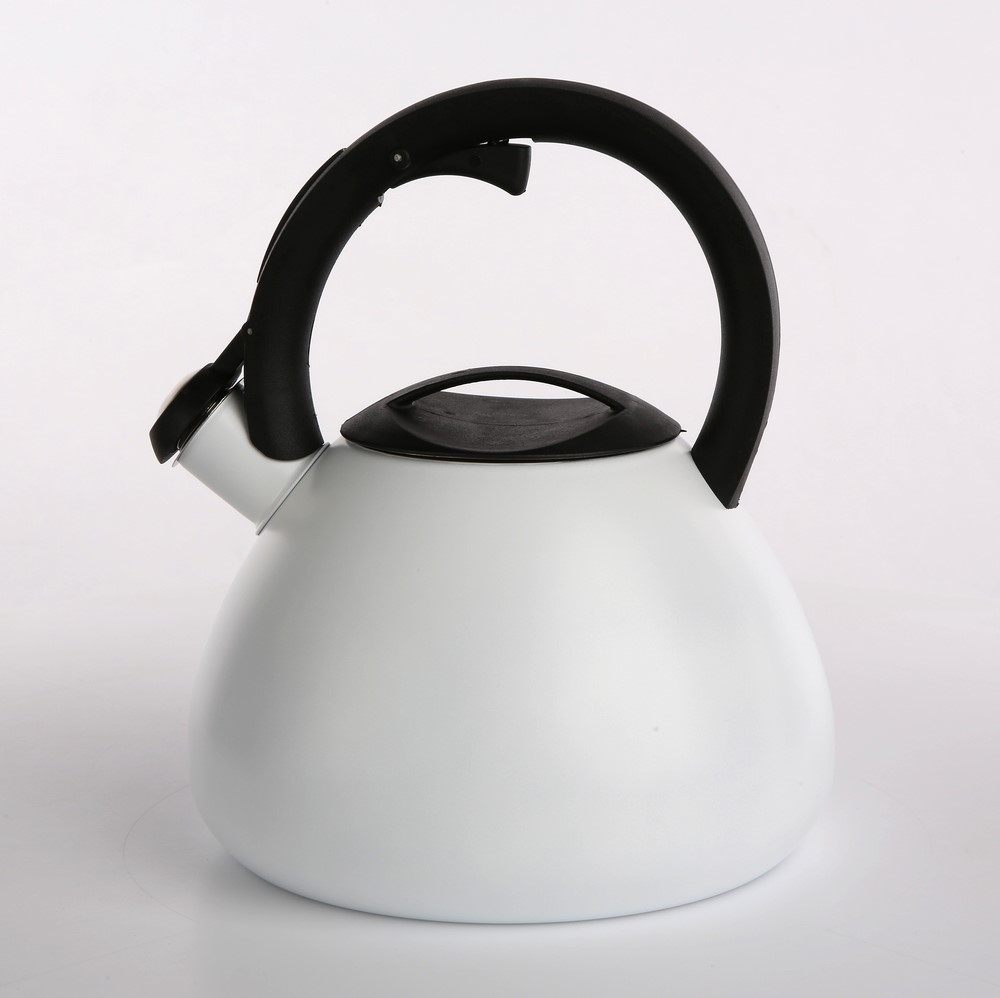 Ceainic din otel inoxidabil Alb Valdinox 2.5l imagine 2021 insignis.ro