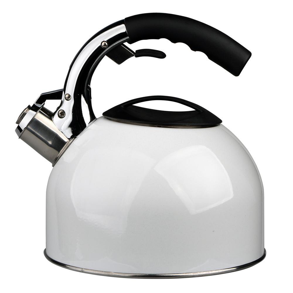 Ceainic din otel inoxidabil Alb Favella 2.7l imagine 2021 insignis.ro