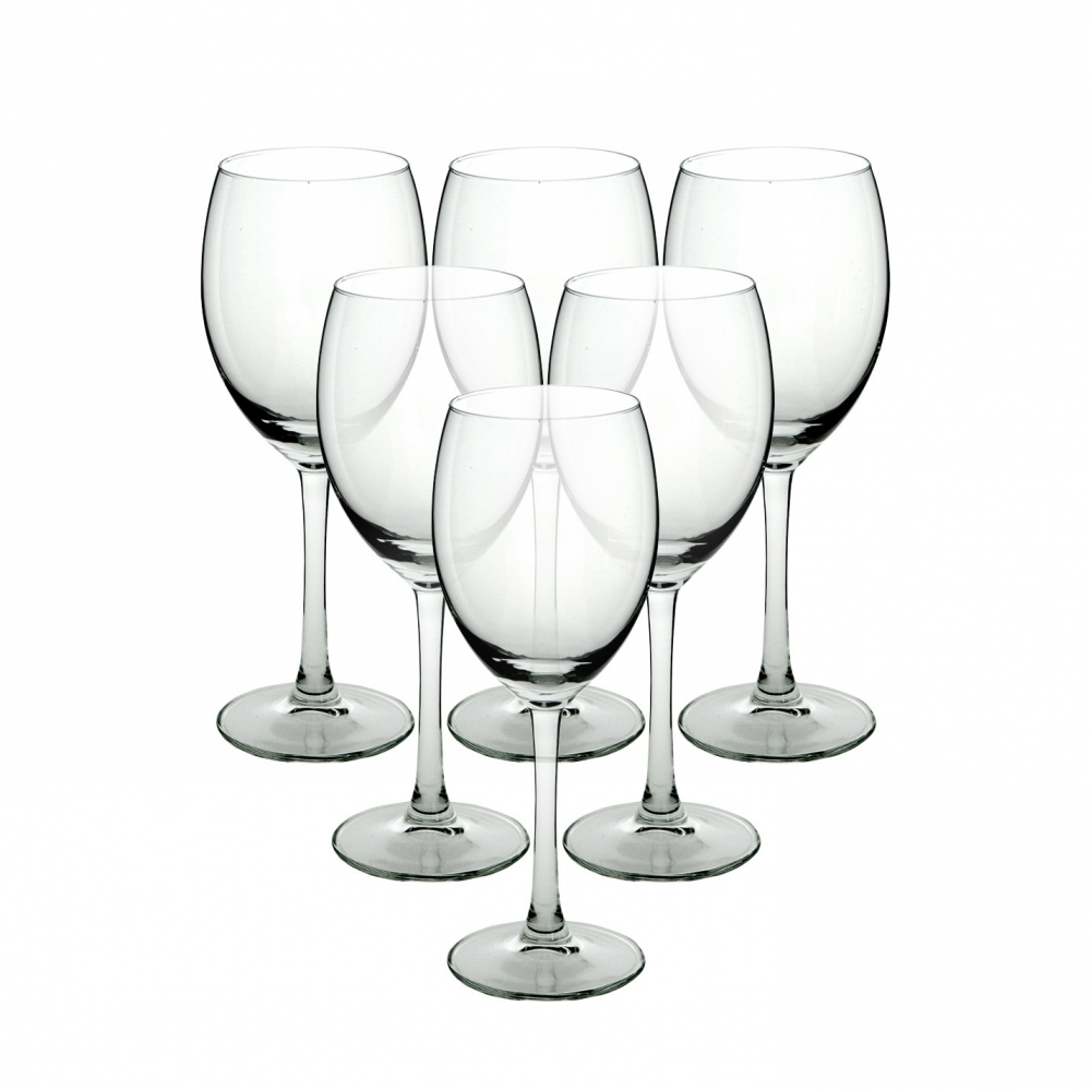 Set 6 pahare de vin alb Diamond 250ml imagine 2021 insignis.ro