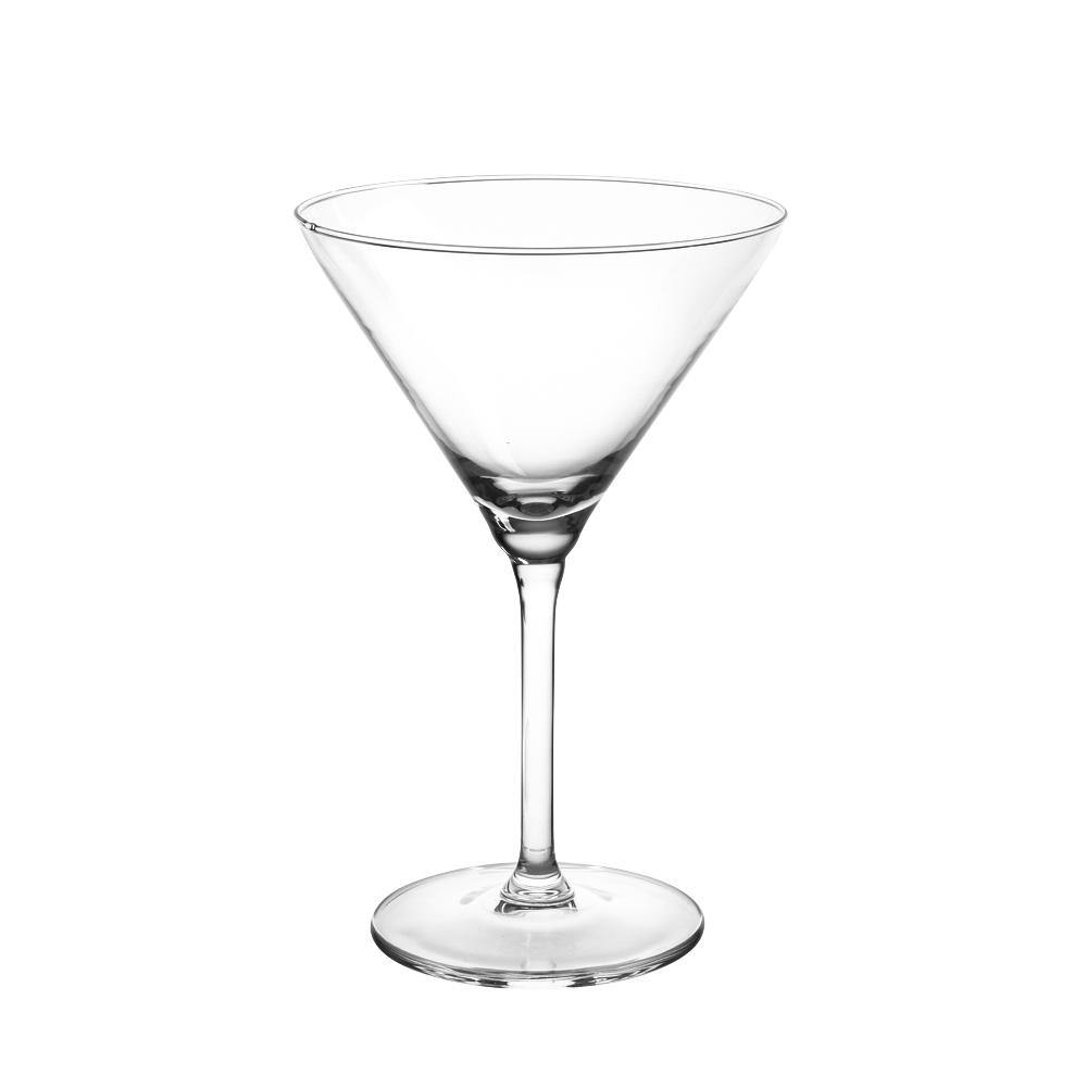 Set 6 pahare de martini Diamond 260ml imagine 2021 insignis.ro