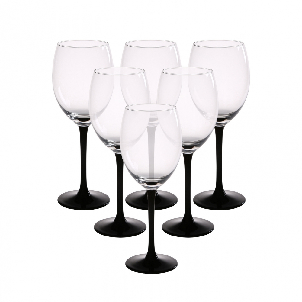 Set 6 pahare de vin alb Onyx 330ml imagine 2021 insignis.ro