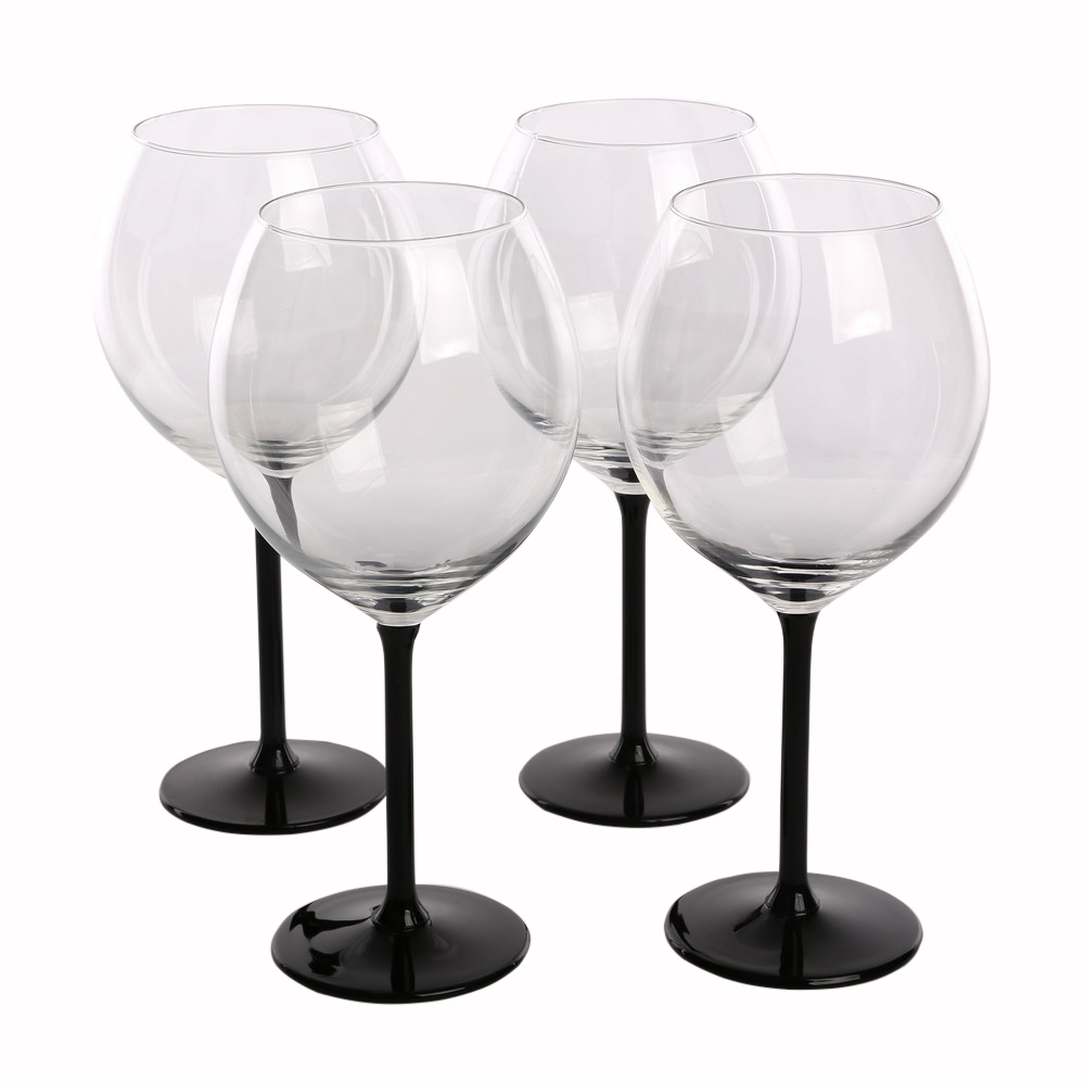 Set 4 pahare de vin Onyx 700ml imagine 2021 insignis.ro