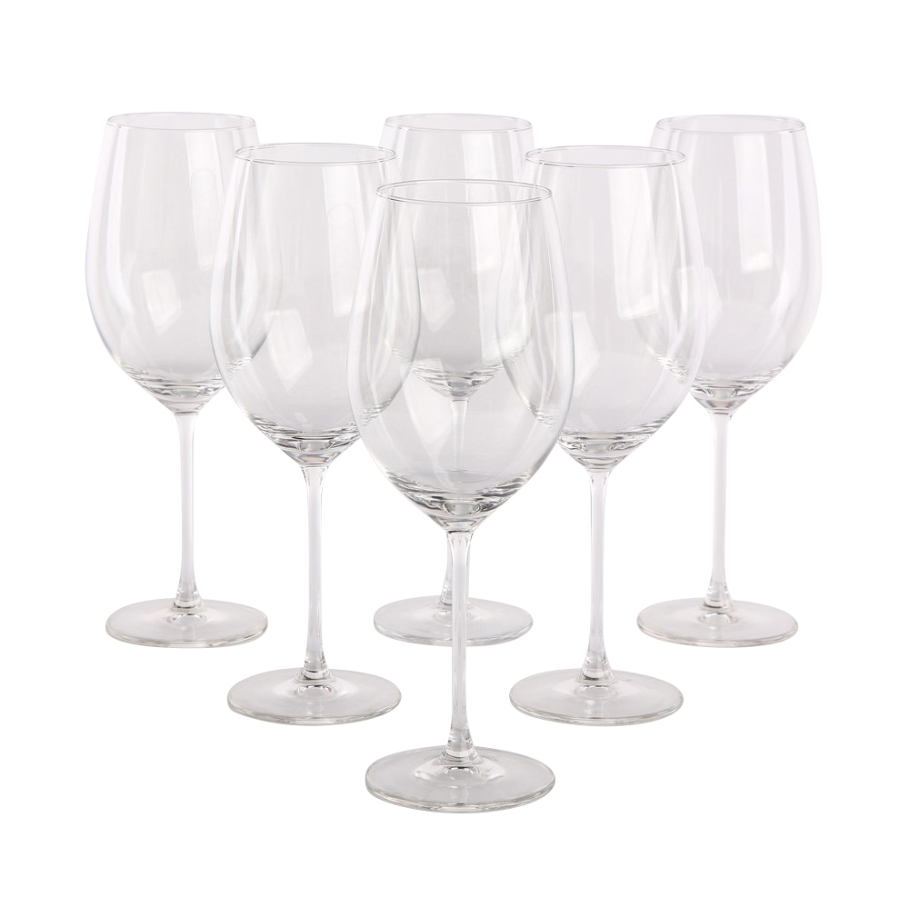 Set 6 pahare de vin Onyx 530ml imagine 2021 insignis.ro