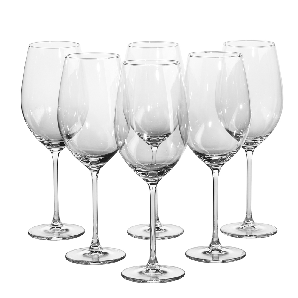 Set 6 pahare de vin alb Onyx 400ml imagine 2021 insignis.ro