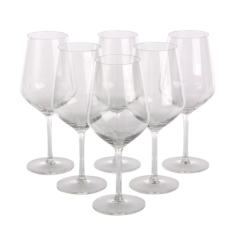Set 6 pahare vin rosu Diamond imagine 2021 insignis.ro