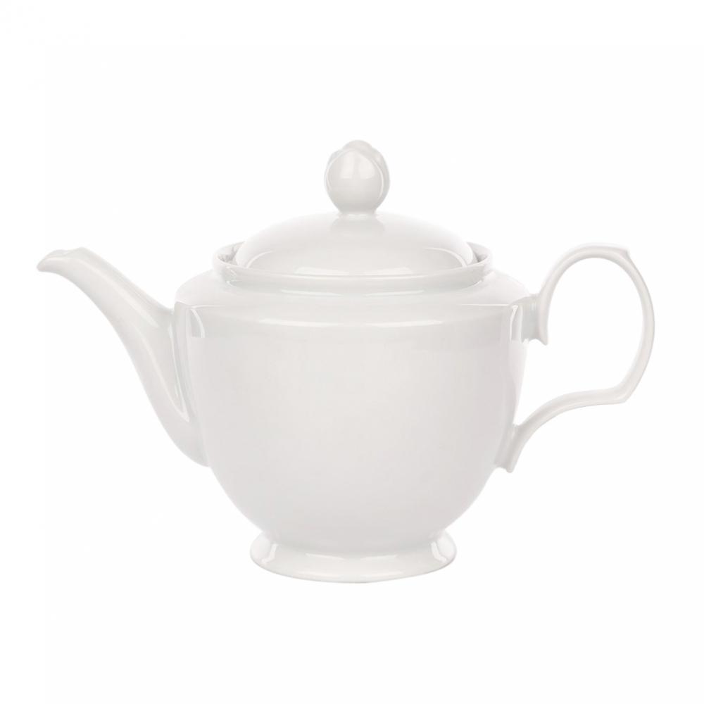 Ceainic din portelan MariaPaula Bianco 600ml imagine 2021 insignis.ro
